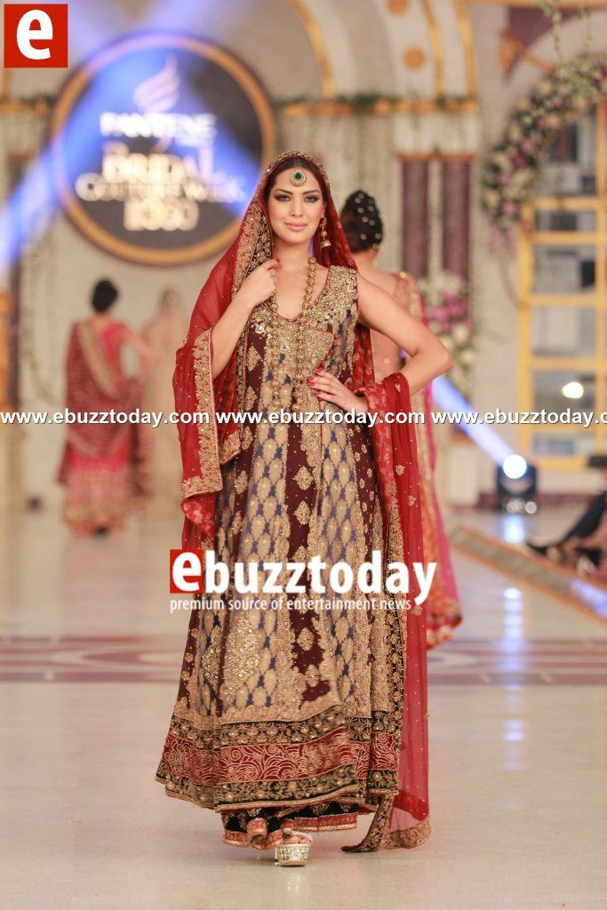 Aisha-Imran-collection-at-Pantene-Bridal-Couture-Week-2013-Day-3-ebuzztoday-79-683x1024 Bridal Dupatta Settings–17 New Ways to Drape Dupatta for A Wedding