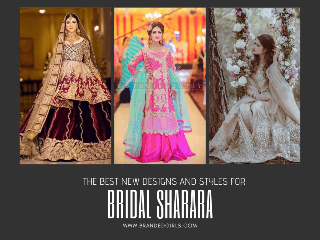 f90c21371d Bridal Sharara Designs - 32 New Designs and Styles to try