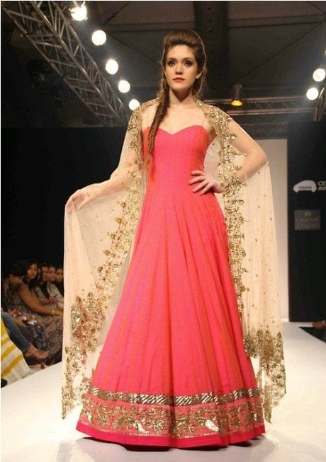 Bridal-Indian-dress 30 Latest Indian Bridal Gown Styles and Designs to Try this Year