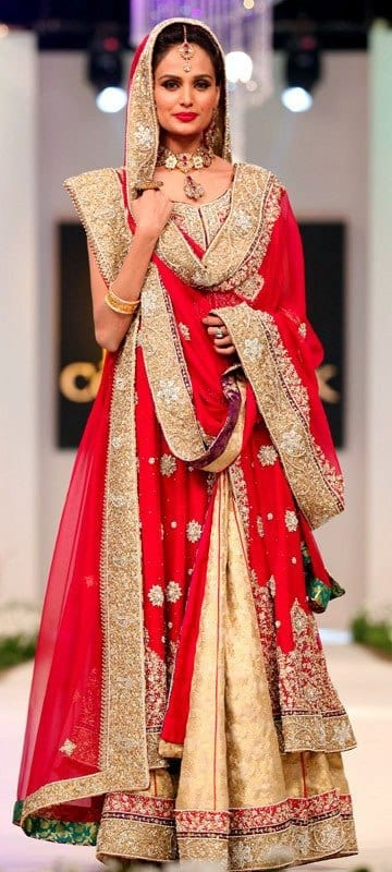 Bridal Bridal Sharara Designs-20 News Designs and Styles to Try