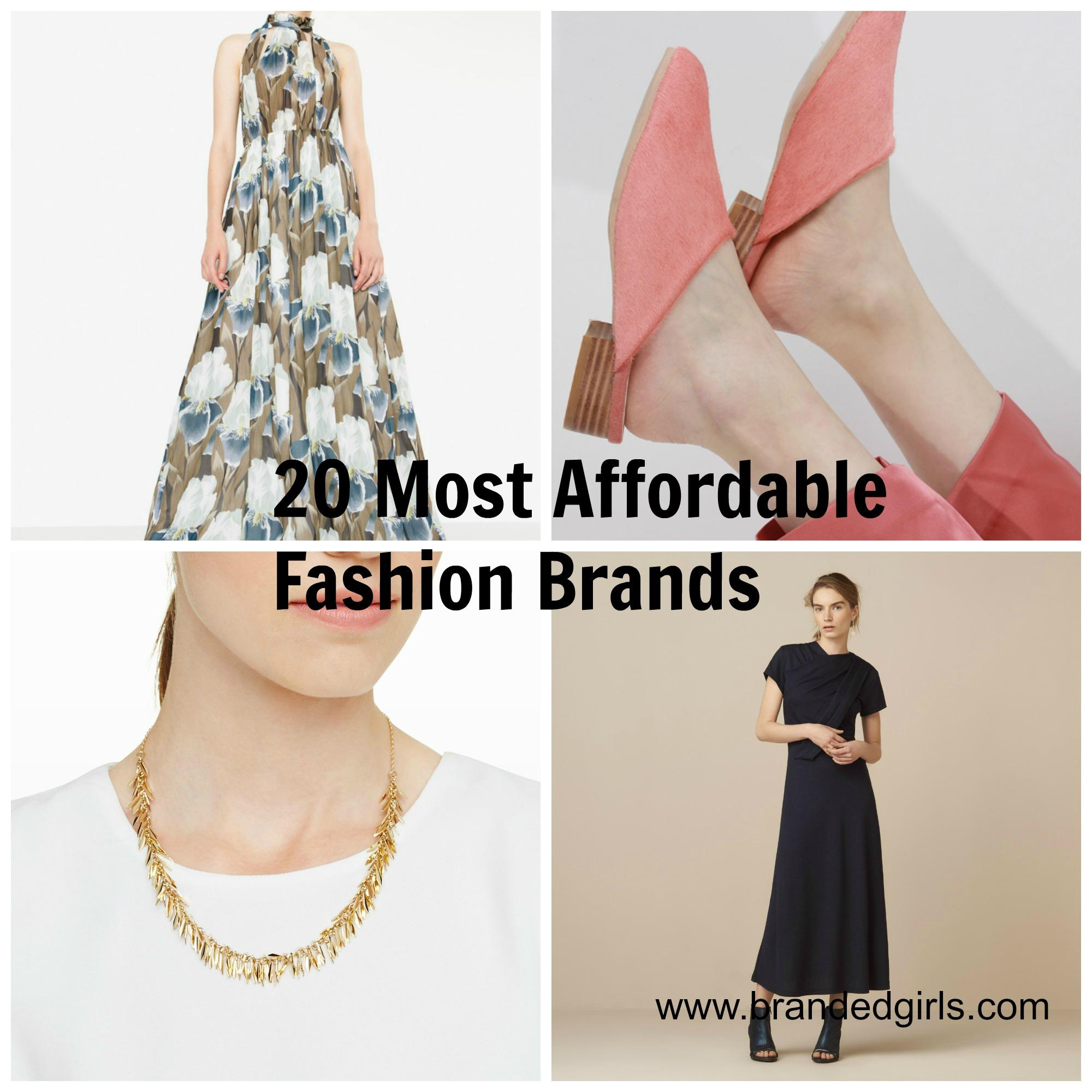 Affordable Fashion Brands Girls Must Know