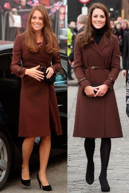 Kate-Middleton-1 20 Times Kate Middleton Recycled Her Wardrobe