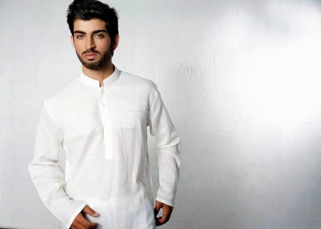 Latest-Men-Summer-Kurta-Shalwar-Designs-Collection-2016-2017-23 Latest Kurta Styles for Men - 24 Best Kurta Styles in 2019