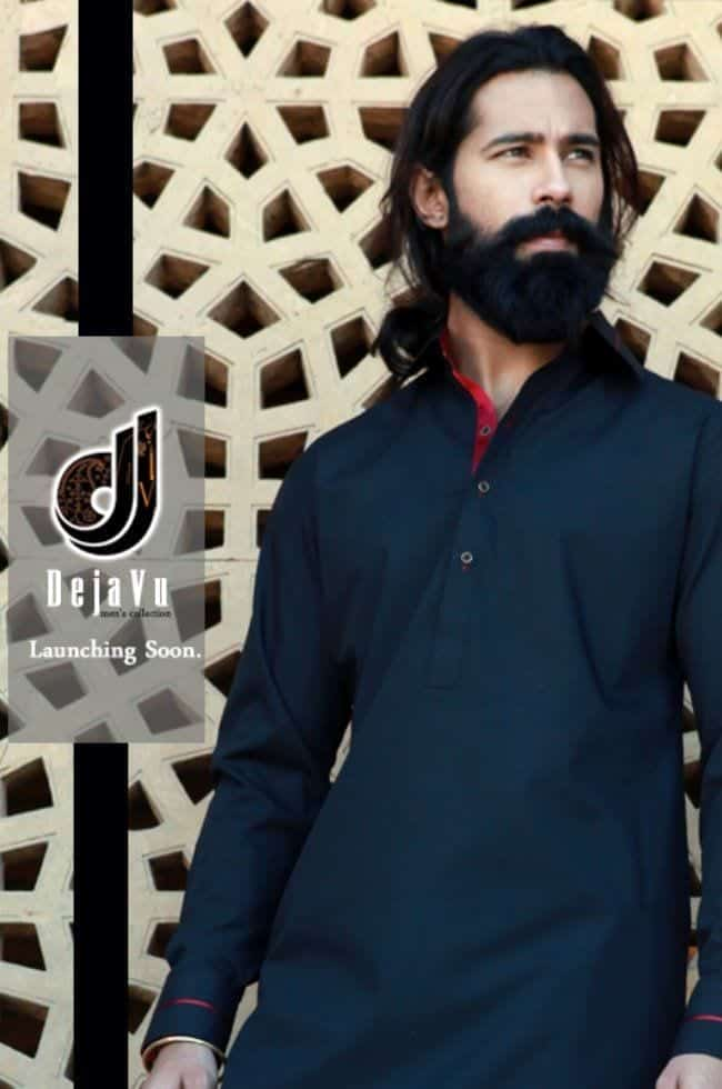 Latest-Summer-Fashion-Men-Kurta-Shalwar-Kameez-Designs-Collection-2015-2016-14 Latest Kurta Styles for Men - 24 Best Kurta Styles in 2016