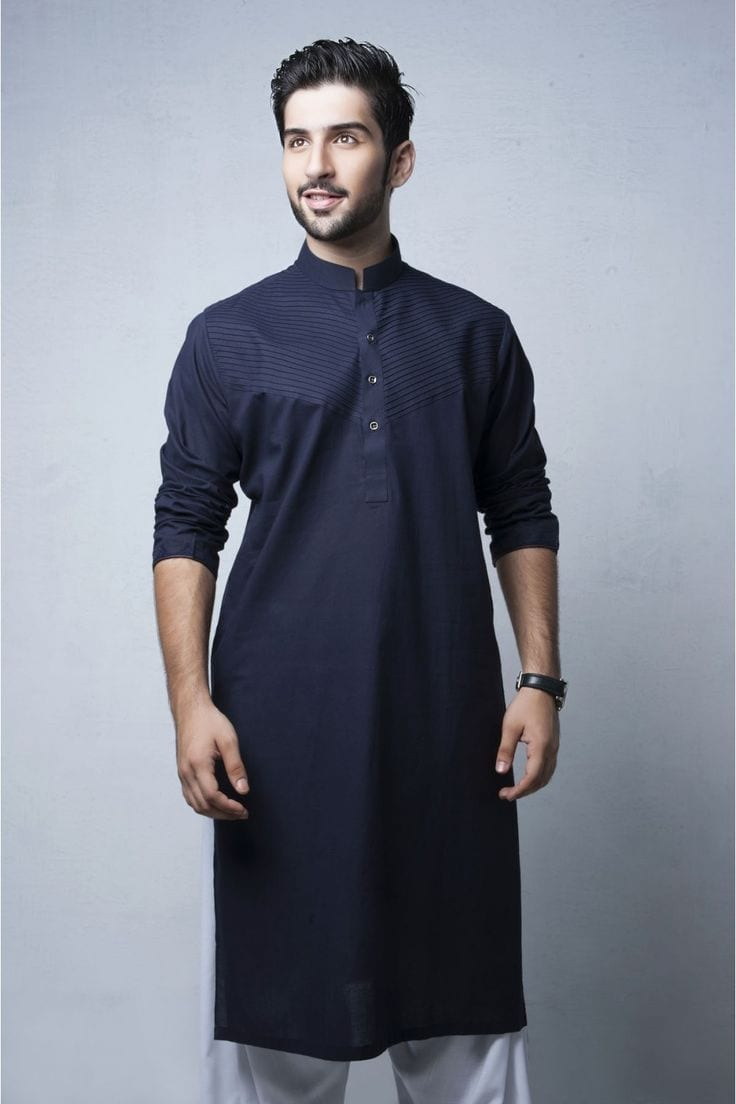 Stand Collar Kurta Designs For Man : Latest kurta styles for men best in