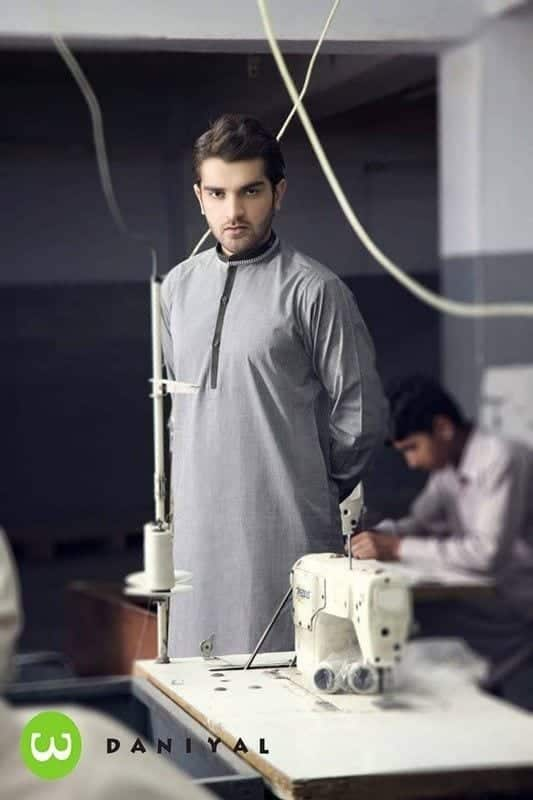 Latest-Summer-Fashion-Men-Kurta-Shalwar-Kameez-Designs-Collection-2015-2016-18 Latest Kurta Styles for Men - 24 Best Kurta Styles in 2016