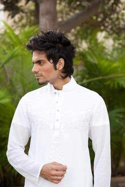 Latest-Summer-Fashion-Men-Kurta-Shalwar-Kameez-Designs-Collection-2015-2016-21 Latest Kurta Styles for Men - 24 Best Kurta Styles in 2019
