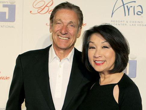 Maury_Povich-Connie_Chung 50 Romantic Jewish Couples-Wedding and Relationship Photos