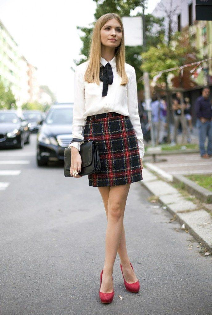 Preppy-Street-Style-for-girls-688x1024 25 Cute Outfits for Skinny Girls-Ideas What to Wear being Skinny