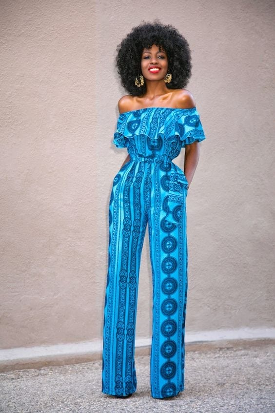ankara-jumpsuit Top 20 Ankara Styles outfits  for Ladies to Follow in 2018