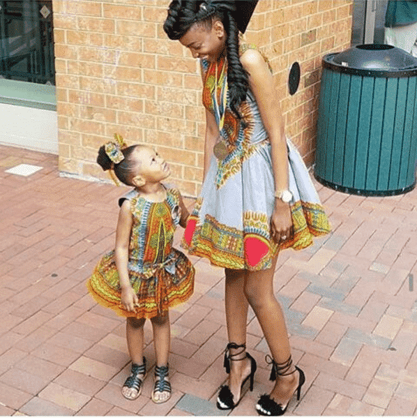ankara-mother-daughter-outfit Top 20 Ankara Styles outfits  for Ladies to Follow in 2018