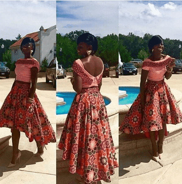 ankara-skirt Top 20 Ankara Styles outfits  for Ladies to Follow in 2018