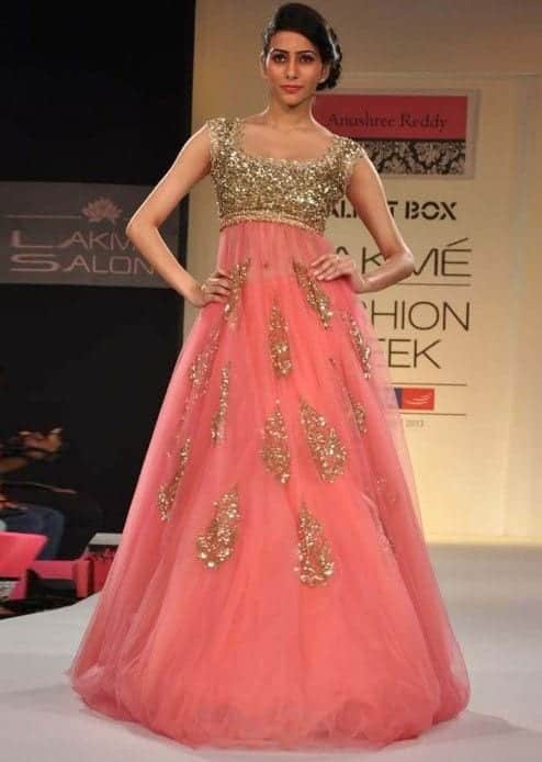 anushree-reddy-dress 30 Latest Indian Bridal Gown Styles and Designs to Try this Year