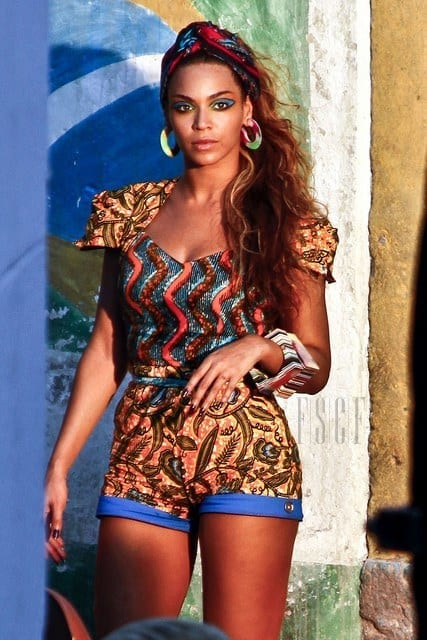 beyonce-ankara Top 20 Ankara Styles outfits  for Ladies to Follow in 2018