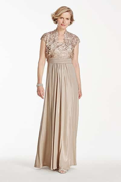 bridal Outfits for Brides Mothers-20 Latest Mother of the Bride Dresses