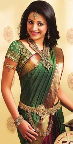 cool-design-of-south-indian-saree-1 23 Latest South Indian Wedding Sarees To Try This Year