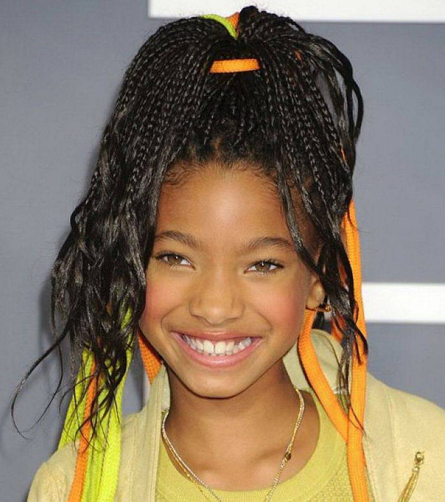 cute-little-girl-braiding-hairstyles-african-american-907x1024 50 Cutest Pictures of African Girls of All Ages