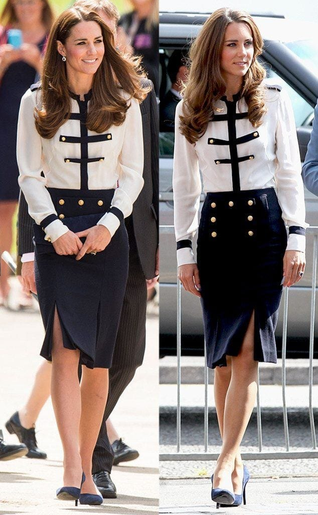 cute-outfit-634x1024 20 Times Kate Middleton Recycled Her Wardrobe