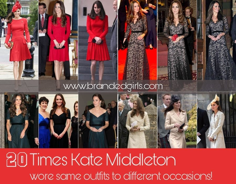 feature 20 Times Kate Middleton Recycled Her Wardrobe