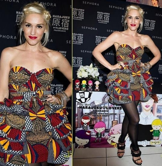gwen-stefani-ankara Top 20 Ankara Styles outfits  for Ladies to Follow in 2018
