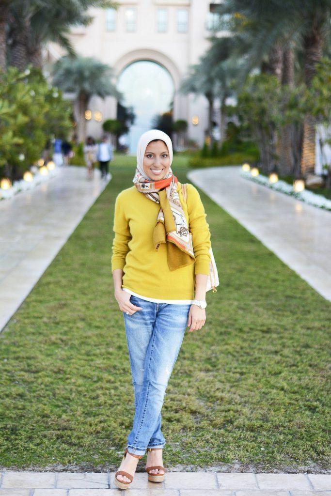 hijab-with-scarf-683x1024 Top 20 Hijab Styles 2019 Every Hijabi Should Know