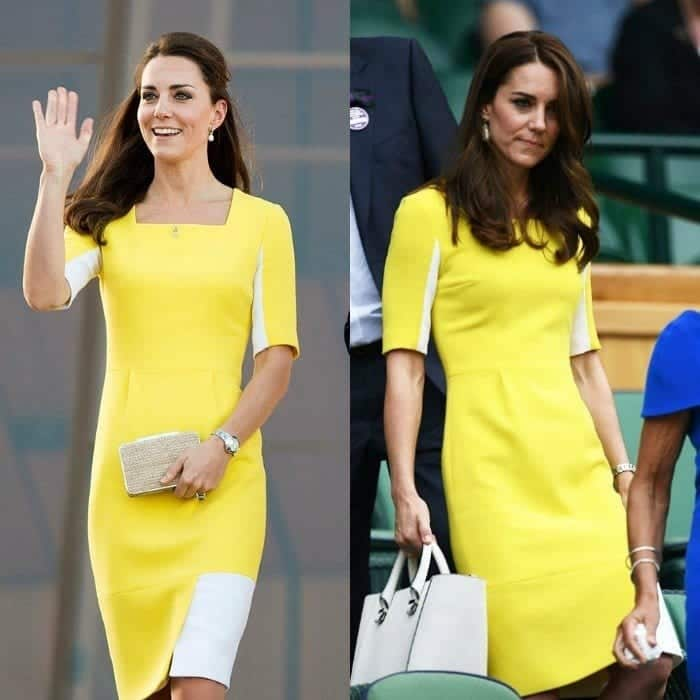 kate-1 20 Times Kate Middleton Recycled Her Wardrobe