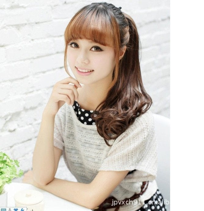 Korean Girl Hairstyle With Bangs: 25 Best Hairstyles For Petite Women