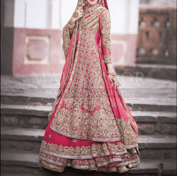 layered-style Bridal Sharara Designs-32 News Designs and Styles to Try