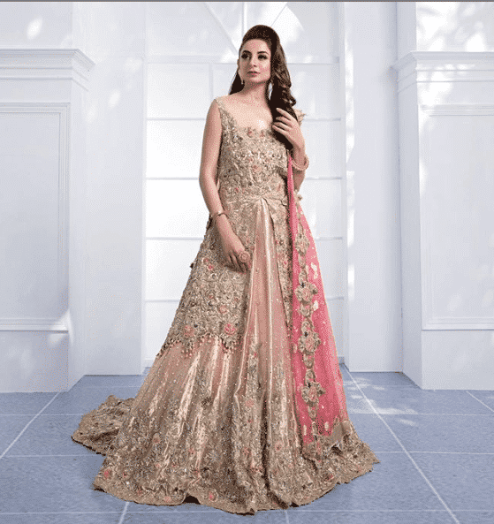 lovely-pink-style Bridal Sharara Designs-32 News Designs and Styles to Try