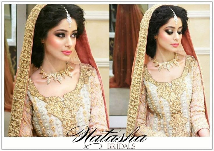 makeup-3 Bridal Sharara Designs-20 News Designs and Styles to Try