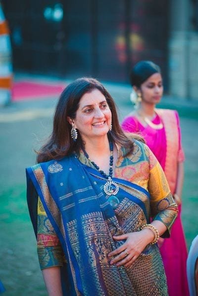 mom-style 20 Best Saree Ideas for Mothers of The Bride 2019