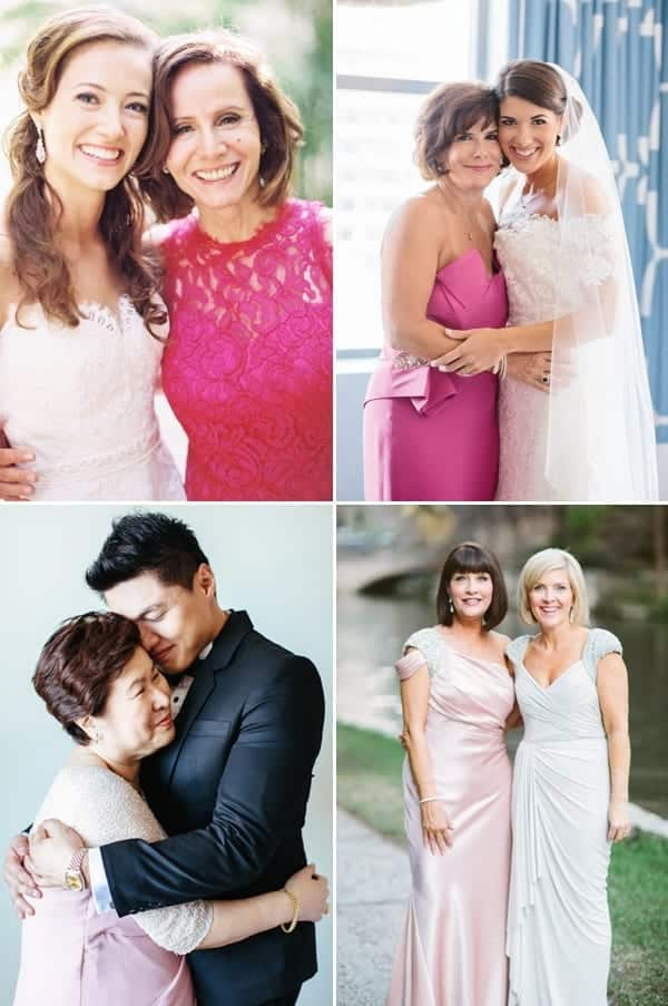 mother-of-bride-pink-outfits Outfits for Brides Mothers-20 Latest Mother of the Bride Dresses