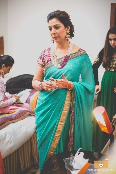 mother-of-the-bride-style 20 Best Saree Ideas for Mothers of The Bride 2019