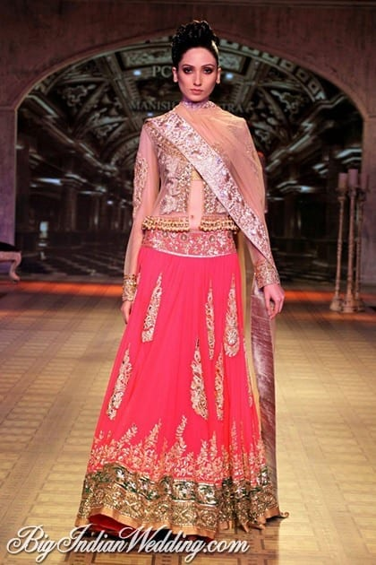 pinkdholkioutfit Dholki Outfits-20 Ideas What to Wear on Dholki/Sangeet Night