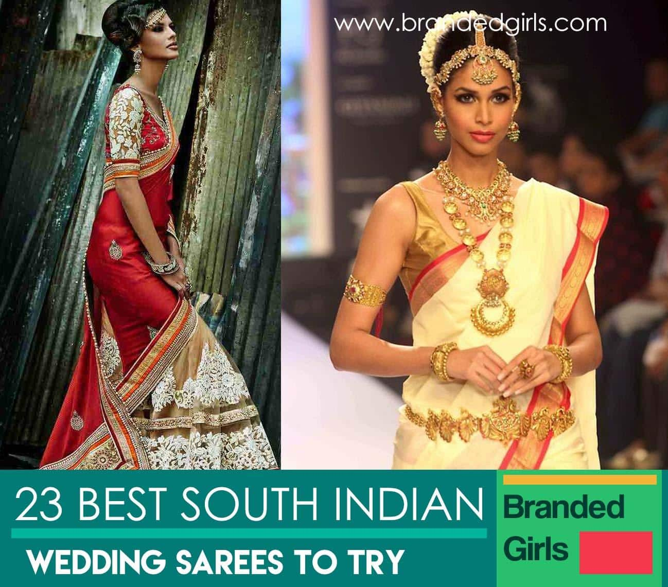 polyvore-sample 23 Latest South Indian Wedding Sarees To Try This Year