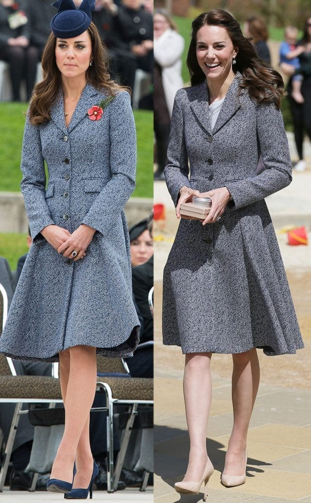 pretty-dress-634x1024 20 Times Kate Middleton Recycled Her Wardrobe