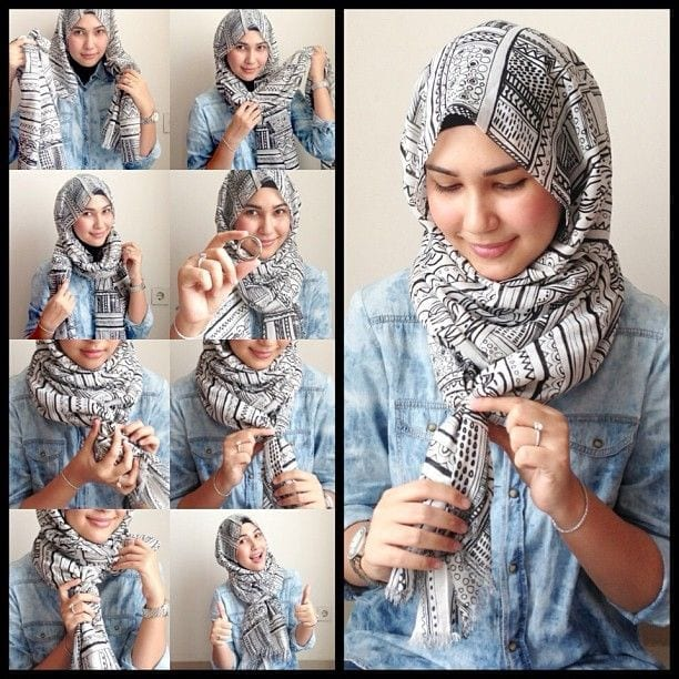 ring-hijab-tutorial Top 20 Hijab Style Trends for Muslim Women These Days