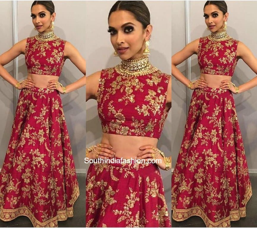 sabyasachi-sharara-deepika Bridal Sharara Designs-20 News Designs and Styles to Try