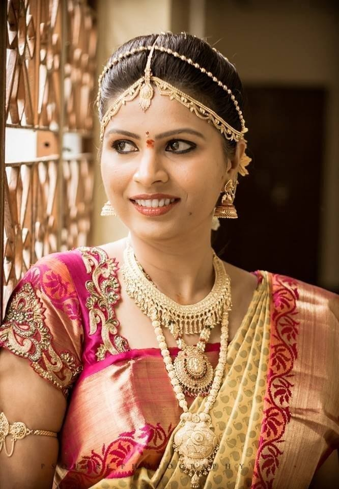 south-indian-saree-day-1 23 Latest South Indian Wedding Sarees To Try This Year