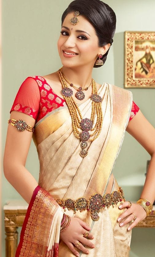 south-indian-saree-for-a-cultural-wedding-1 23 Latest South Indian Wedding Sarees To Try This Year