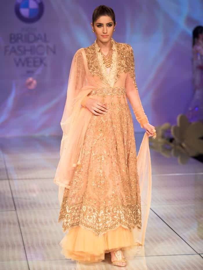 tarun-teapink-and-ivory-embroidered-long-shirt-sharara-for-brides Bridal Sharara Designs-32 News Designs and Styles to Try