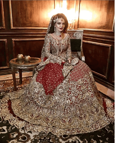 typically-traditional-look Bridal Sharara Designs-32 News Designs and Styles to Try