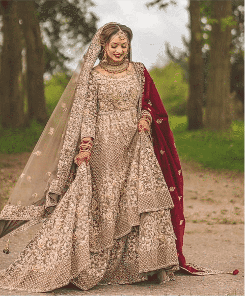 wear-it-with-an-extra-shawl Bridal Sharara Designs-32 News Designs and Styles to Try