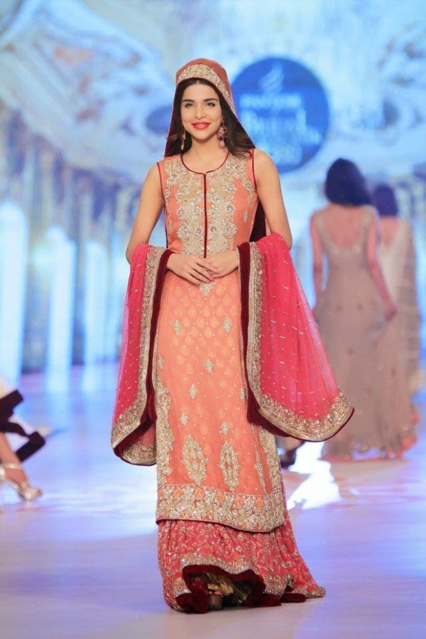 wedding-bridal-new-fashionable-dress-girls-at-pbcw-by-designer-rani-emaan-1 Bridal Sharara Designs-20 News Designs and Styles to Try