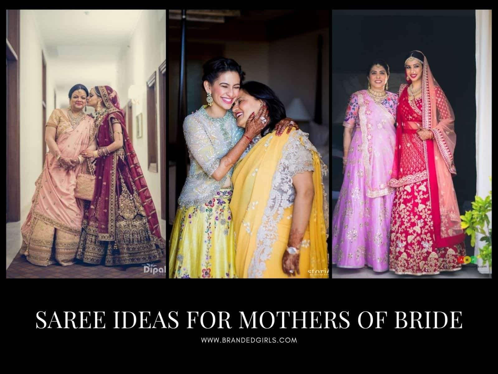Best-Saree-Ideas-for-Mothers-of-The-Bride 20 Best Saree Ideas for Mothers of The Bride 2019