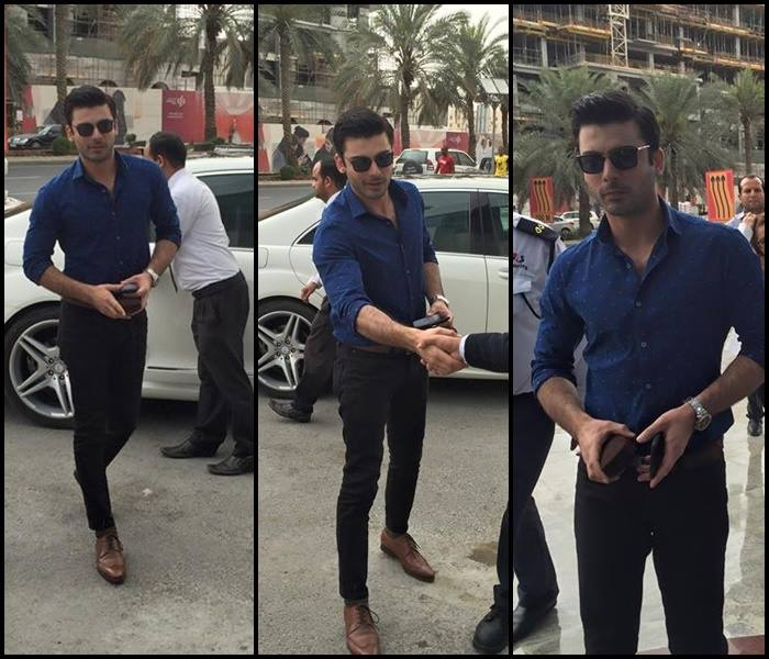 Fawad-Khan-In-Qatar-For-International-Fashion-Week02735982_201531916102 Fawad Khan Dressing Styles-27 Best Outfits of Fawad Khan to Copy