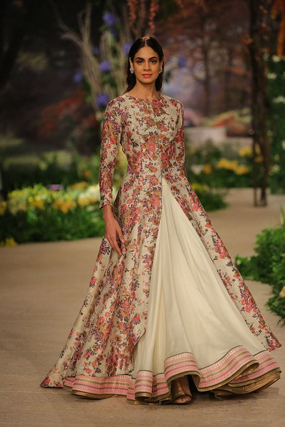 Gown-1 30 Latest Indian Bridal Gown Styles and Designs to Try this Year
