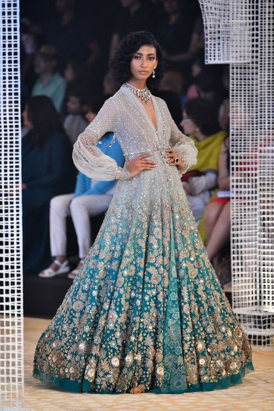 Gown-2 30 Latest Indian Bridal Gown Styles and Designs to Try this Year