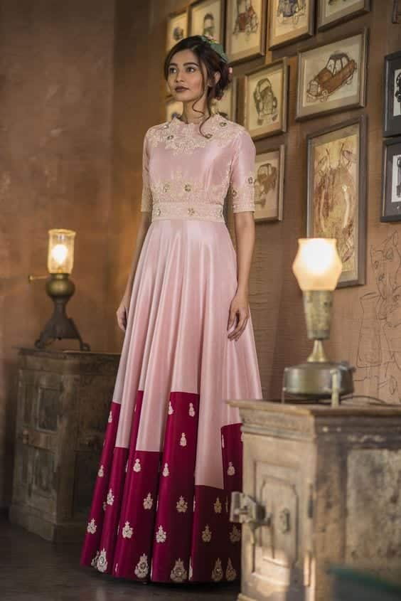 Pink 30 Latest Indian Bridal Gown Styles and Designs to Try this Year