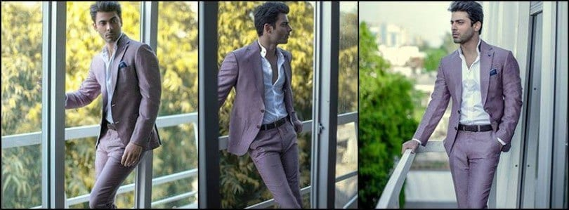 Republic-By-Omer-Farooq-Men-Party-Wear-Suits-Summer-Collection-2015-2016-15-810x299 Fawad Khan Dressing Styles-27 Best Outfits of Fawad Khan to Copy